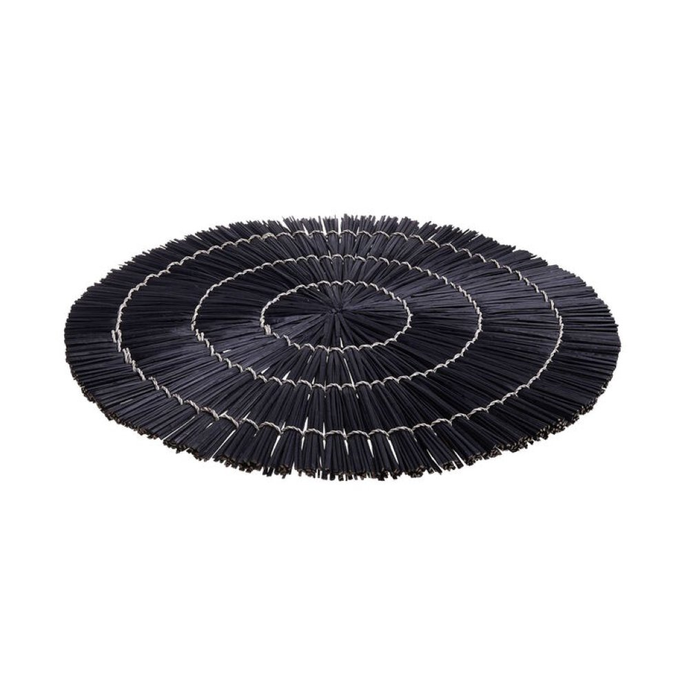 Зображення Підставка для тарілки YUKI Чорний O:38 см. 10224107