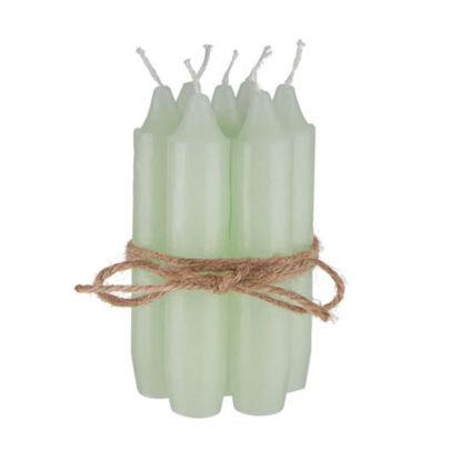 Изображение Свечка LITTLE LIGHT Зеленый O:2.2 см. H:11 см. 10224147