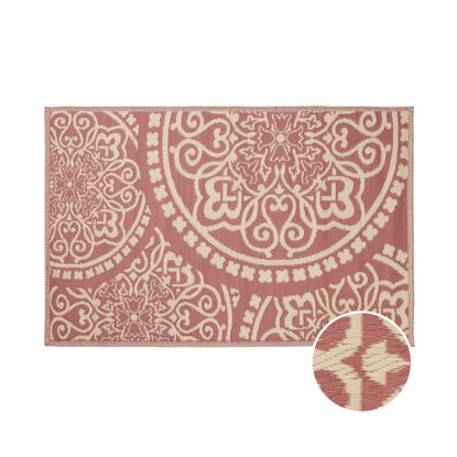 Зображення Килим для підлоги COLOUR CLASH Червоний 118х180 см. H:118 см. L:180 см. 10224164