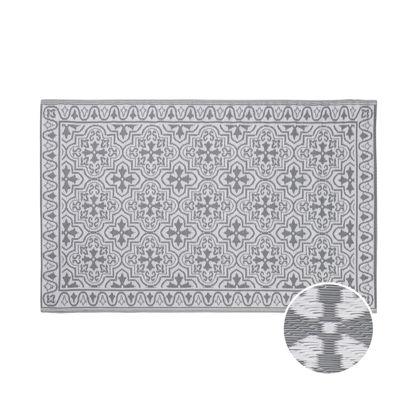 Зображення Килим для підлоги COLOUR CLASH Сірий 118х180 см. H:118 см. L:180 см. 10224166