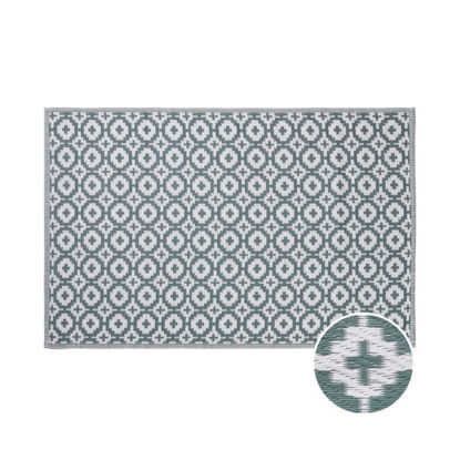 Зображення Килим для підлоги COLOUR CLASH Зелений 118х180 см. H:118 см. L:180 см. 10224170
