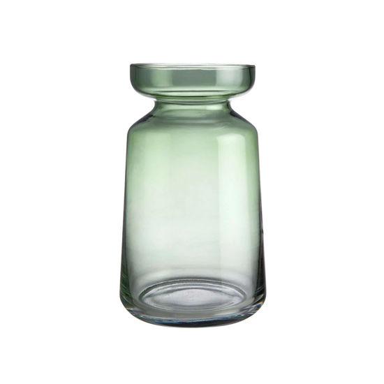 Изображение Ваза MONA Зеленый O:12.5 см. H:20.5 см. 10224179