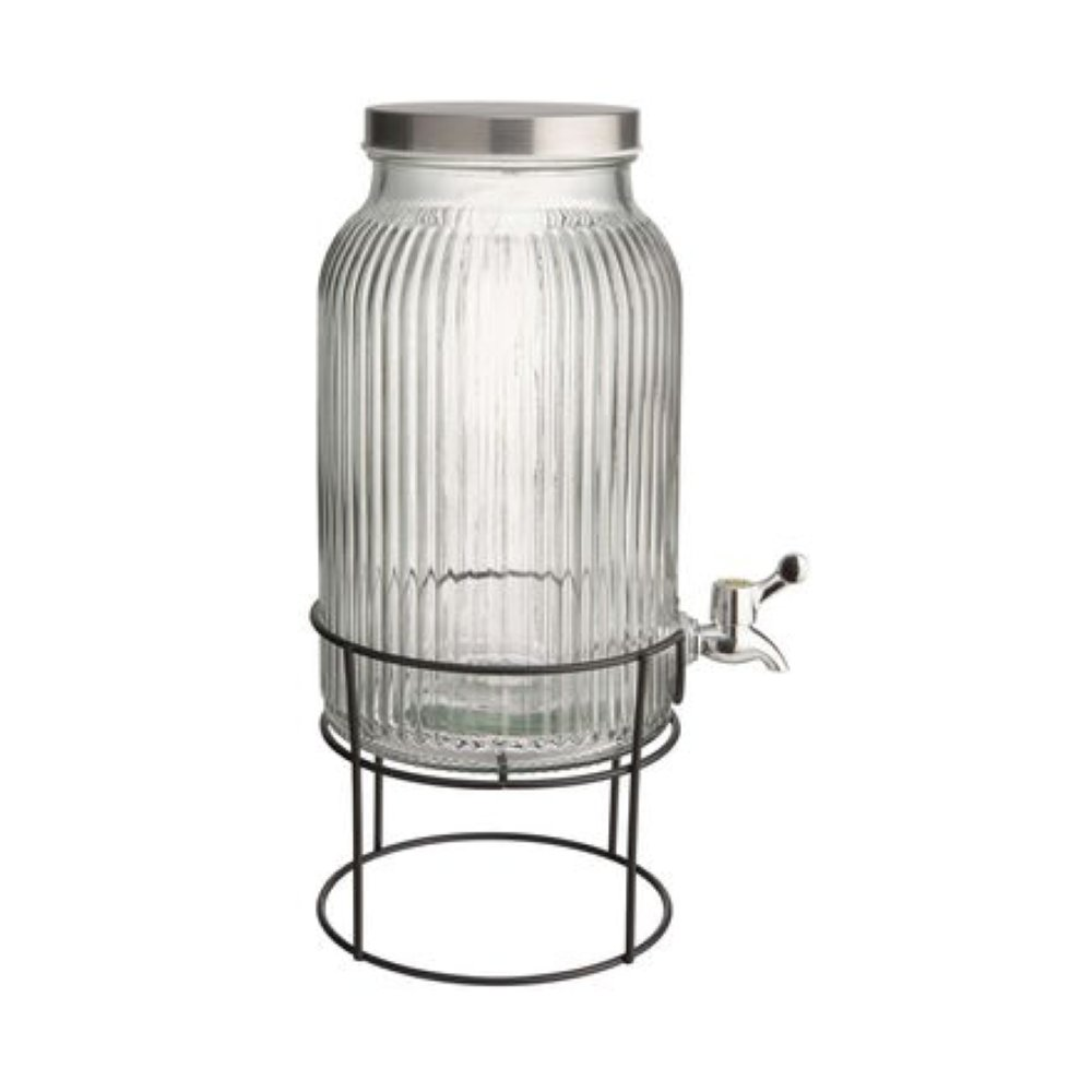 Зображення Банка для соку з дозатором та кришкою FOUNTAIN Прозорий V:5700 мл. 10224188