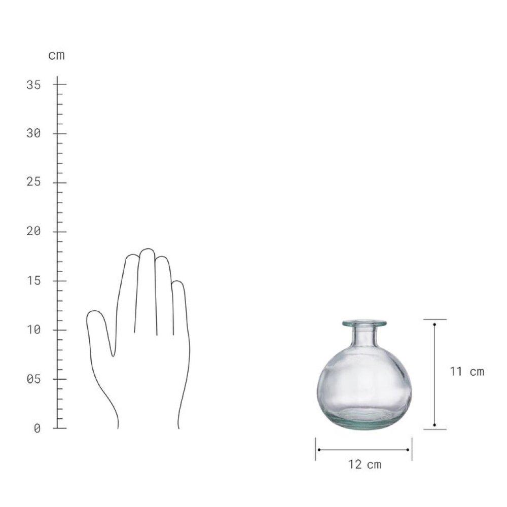 Зображення Пляшка LITTLE LIGHT Прозорий O:12 см. H:11 см. 10224307