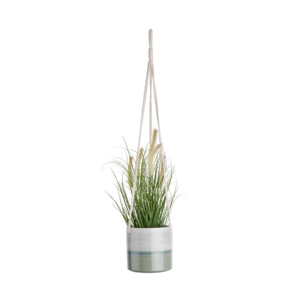 Зображення Горщик для квітів HORIZON Зелений O:13.5 см. H:13 см. 10224334