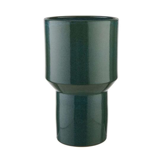 Зображення Ваза BOTANICAL Зелений O:15.5 см. H:26.5 см. 10224356