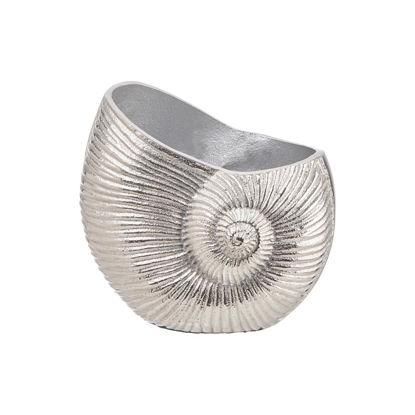 Зображення Горщик для квітів REEF Срібний 15х10х14 см. H:15 см. L:10 см. 10224546