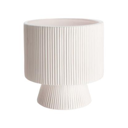 Зображення Горщик для квітів ROME Білий O:15 см. H:15.5 см. 10224658