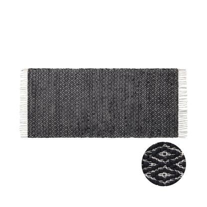 Изображение Ковер для пола ETHNO LODGE Черный 140х70 см. H:140 см. L:70 см. 10224687
