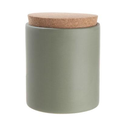 Зображення Ємність з кришкою для зберігання CLAY Зелений V:610 мл. 10224722