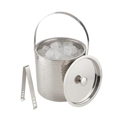Зображення Відро для охолодження шампанського ON ICE Срібний O:20 см. V:3500 мл. 10225168