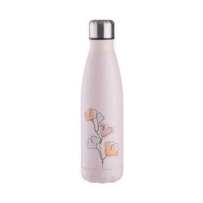 Изображение Бутылка с крышкой TO GO Розовый V:500 мл. 10225239