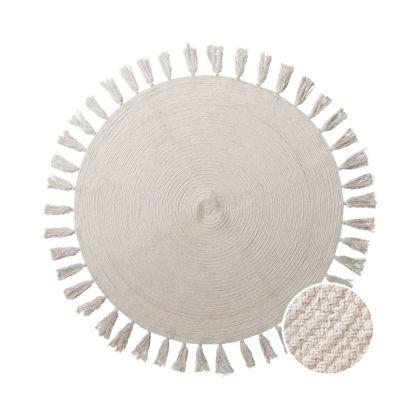 Зображення Килим для підлоги ALL NATURE Бежевий O:110 см. 10225334