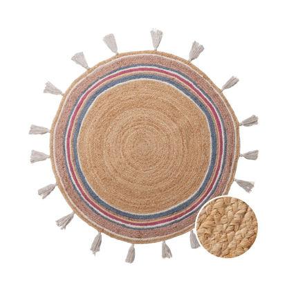 Зображення Килим для підлоги ALL NATURE Коричневий O:110 см. 10225335