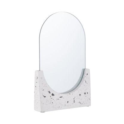 Зображення Дзеркало TERRAZZO Білий 16х25 см. H:25 см. L:16 см. 10225600