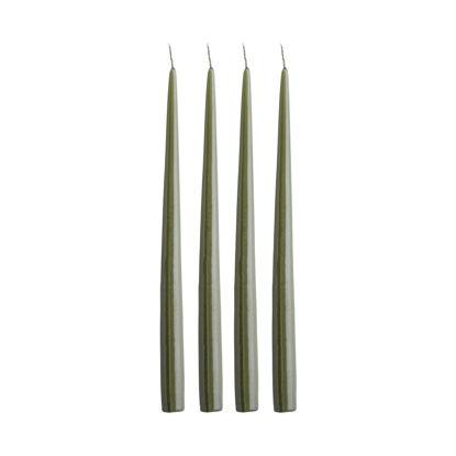Зображення Свічка TAPER Зелений O:2.2 см. H:32 см. 10225668