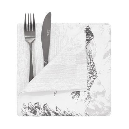 Зображення Серветка ROYAL HEIGHTS Білий 45x45 см. H:45 см. L:45 см. 10225674