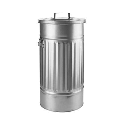 Изображение Ведро для мусора ZINC Серебряный H:66 см. 50009633